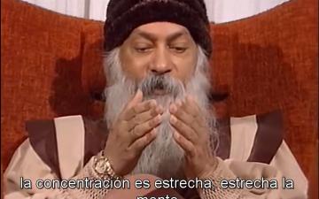 """""""Meditación es lo opuesto a concentración"""" – Osho"""